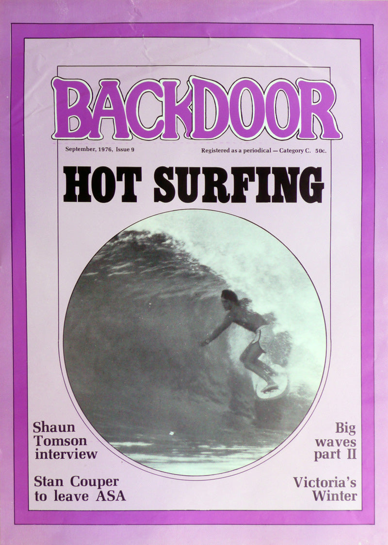 'Backdoor' Magazine Newsbill