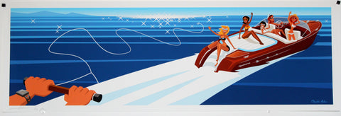 Bungalow Graphics- Speedboat Thrills.