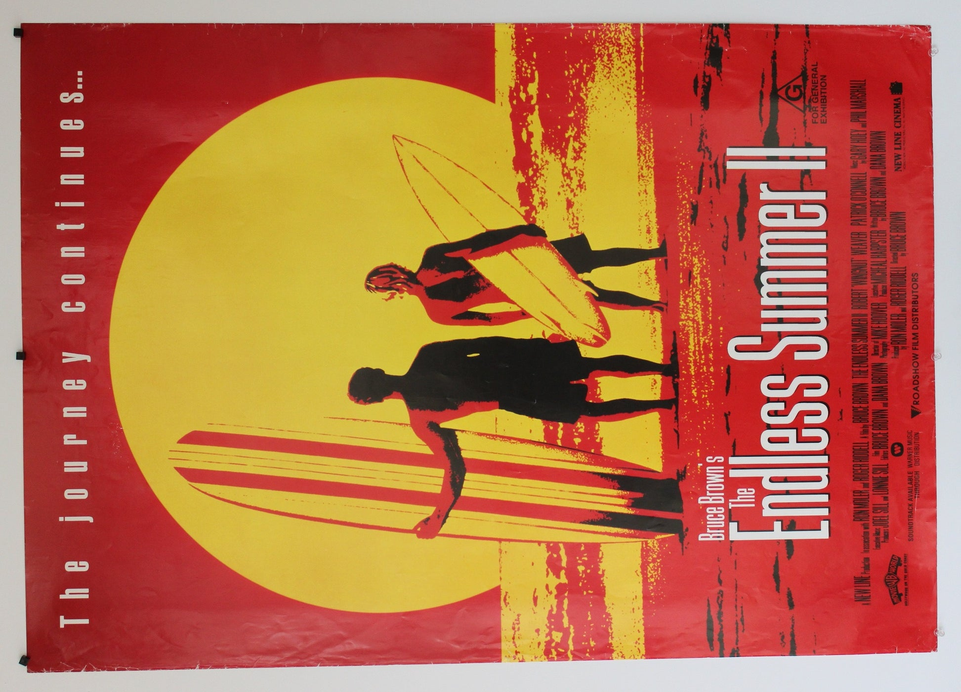 The Endless Summer II. Original one-sheet poster.