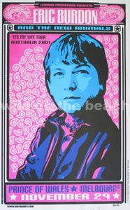 Eric Burdon Tour Poster.
