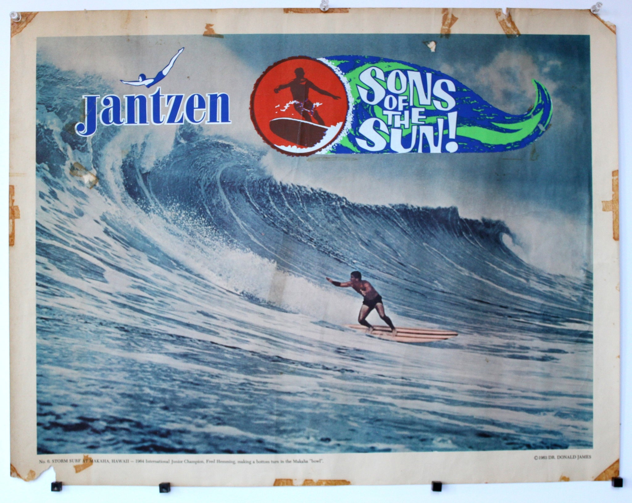 Sons of the Sun. Jantzen Promo poster.