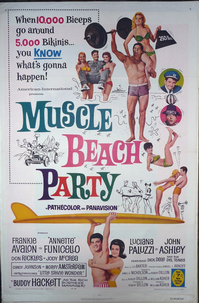 Muscle Beach Party. 1964.