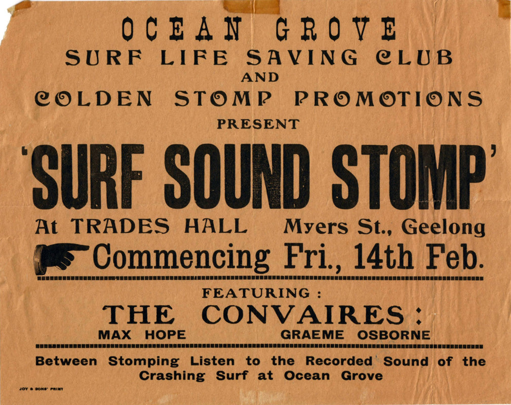 Surf Sound Stomp. Ocean Grove.