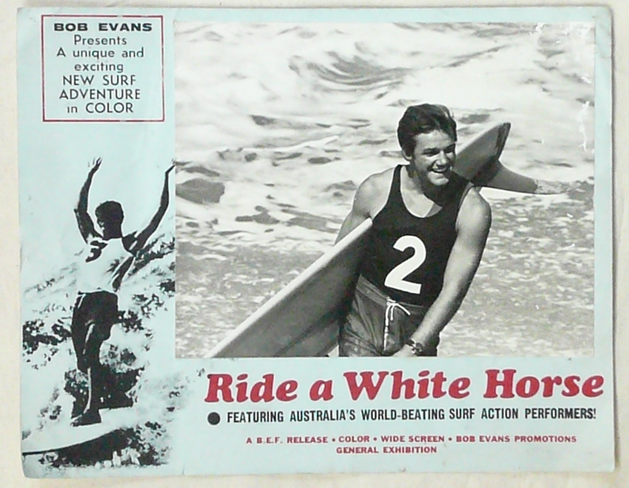 Ride a White Horse lobby card.