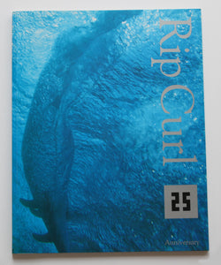 Rip Curl 25th Anniversary Commemorative Booklet.
