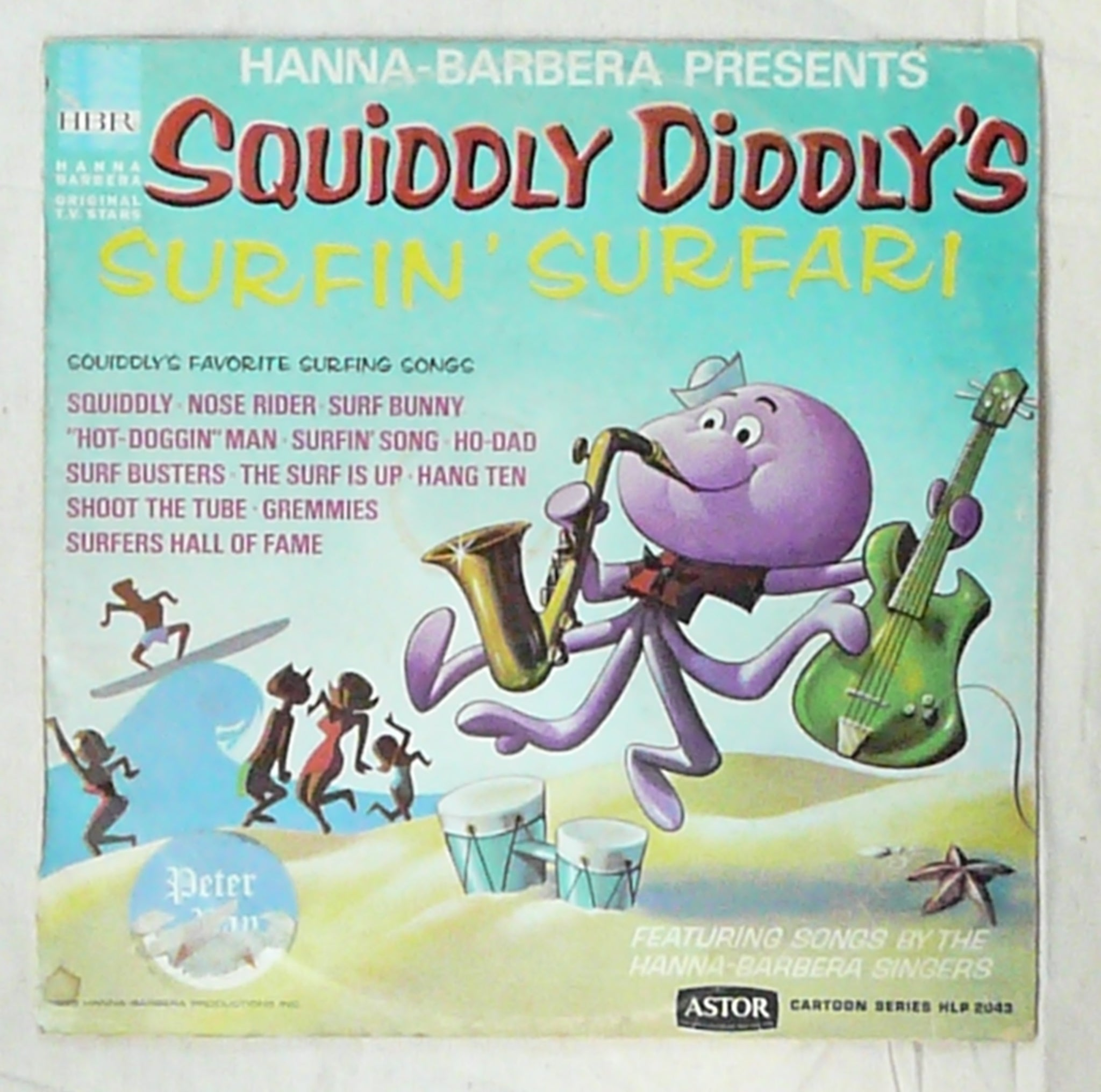 'Squiddly Diddly' Vinyl Album.