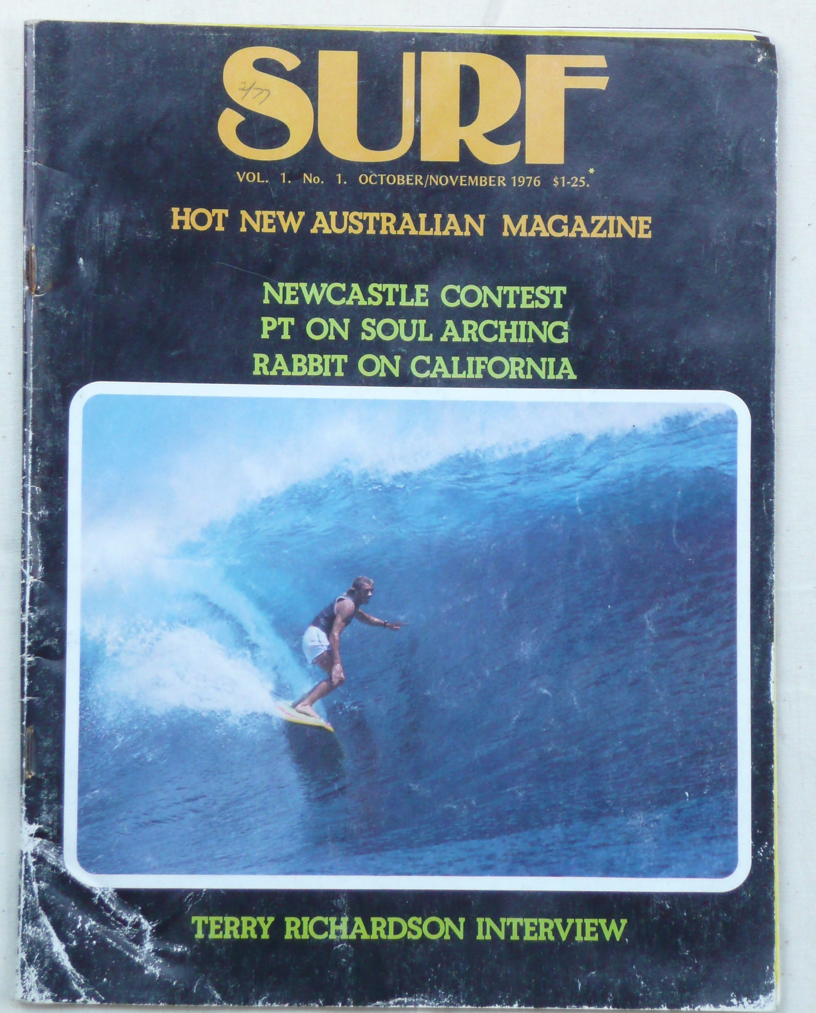 """Surf"" Magazine. Volume 1 No 1."