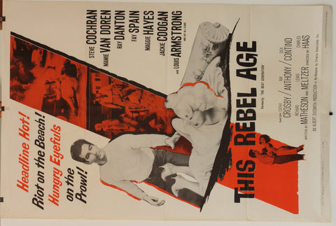 This Rebel Age. Original US one sheet poster.
