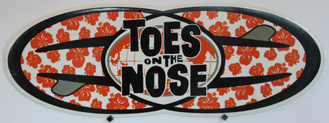 Toes on the Noe promo card. c1999.