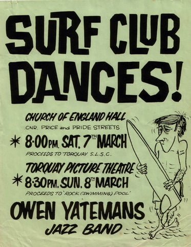 Surf Club Dance-Torquay. 1964.