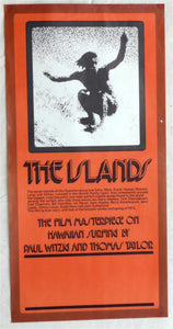 The Islands. 1972.