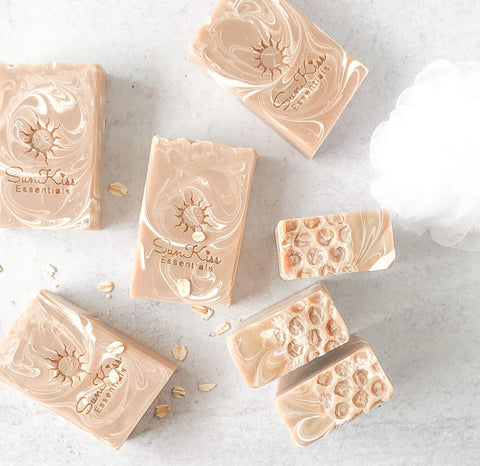 Oatmeal Milk & Honey Handcrafted Soap