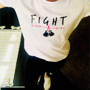 NEO MAM:Le t-shirt 'Fight like a girl'