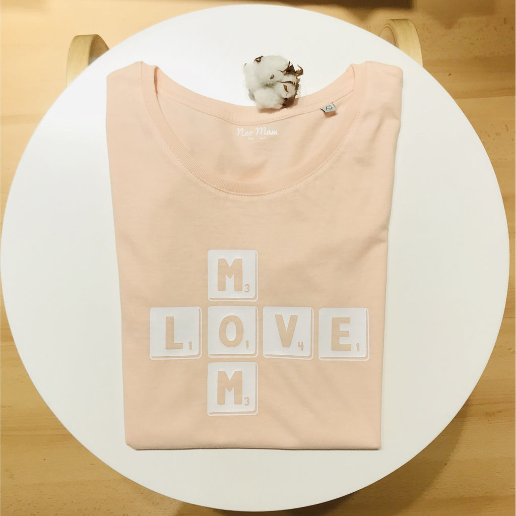 NEO MAM:Le t-shirt Mom Love