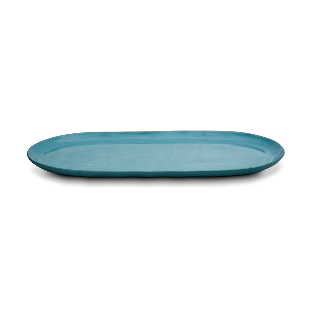 Cloud Oval Plate Steel (L)