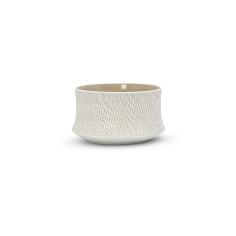 Etchings Bowl (M) White
