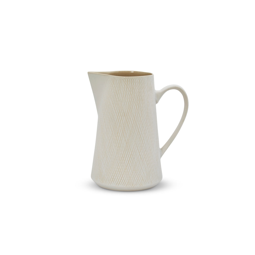 Etchings Jug (L) White