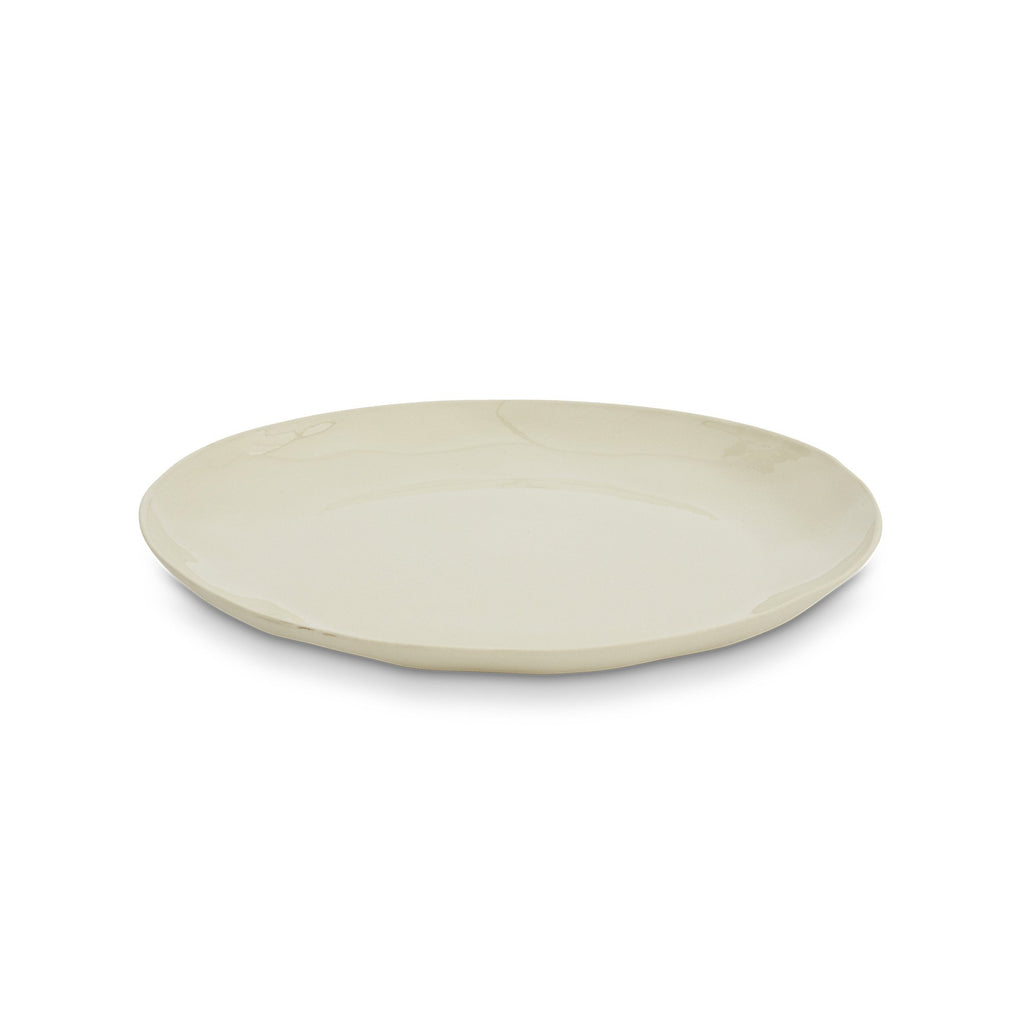 Cloud Round Plate Chalk White (L)