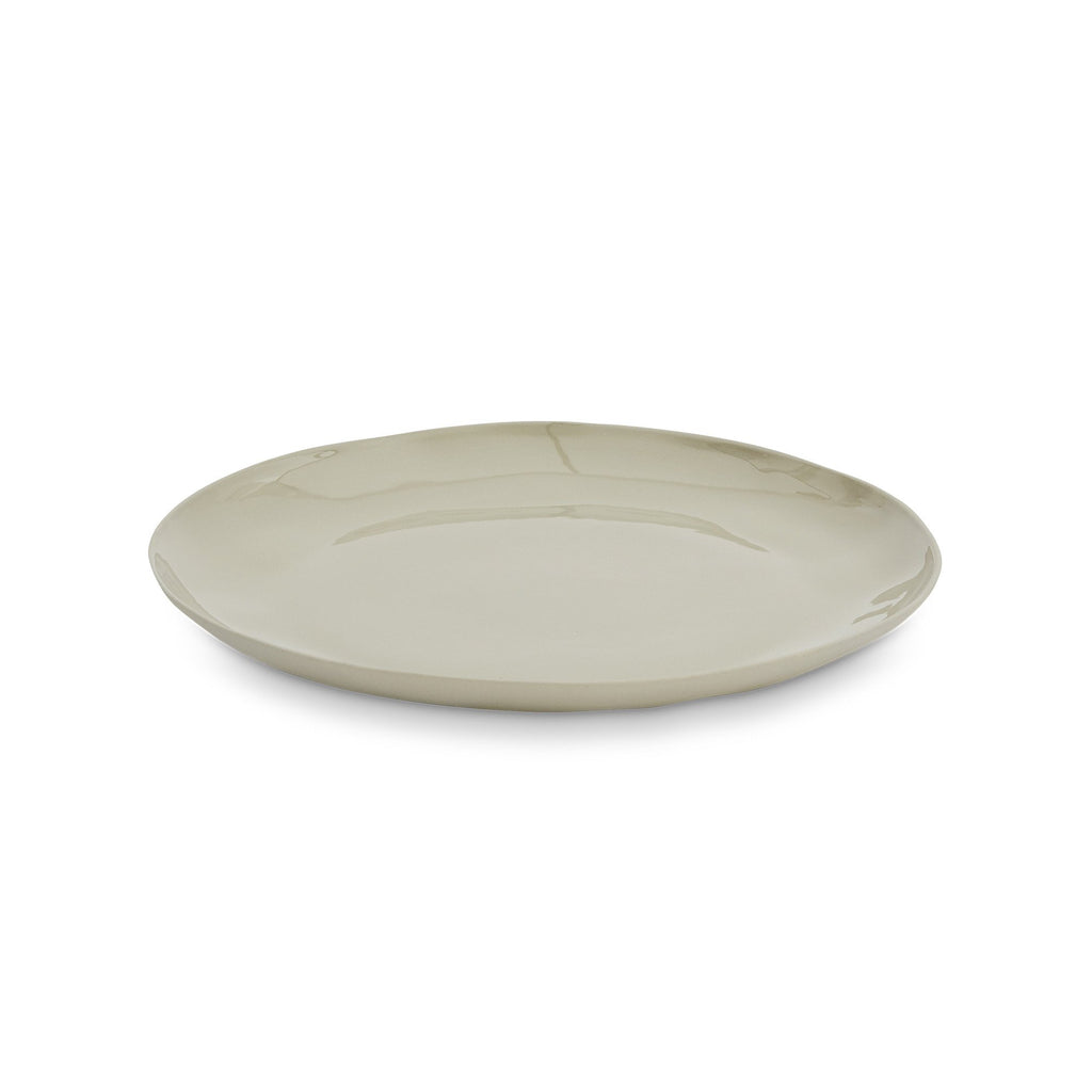 Cloud Round Plate Dove Grey (L)