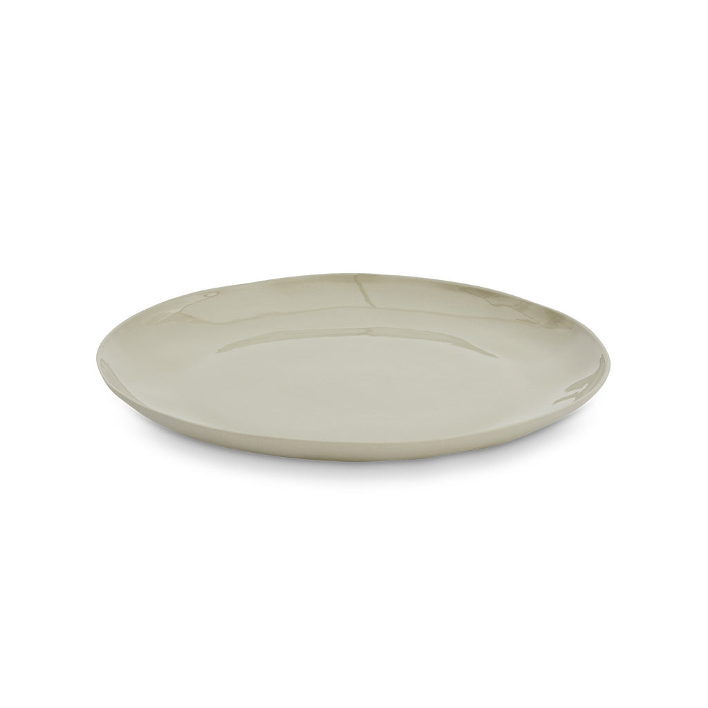 Cloud Round Plate Dove Grey (M)
