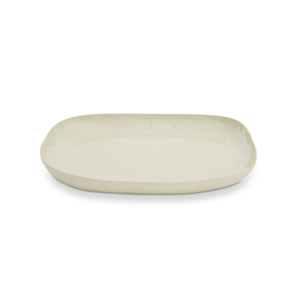 Cloud Square Plate Chalk White (L)