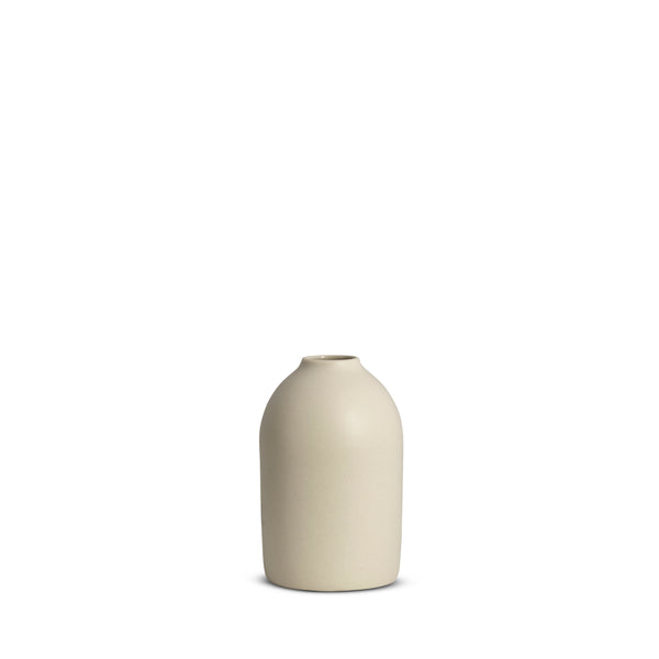 Cocoon Vase, Chalk White, Small
