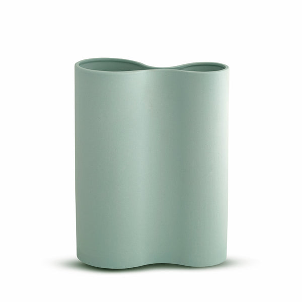 Smooth Infinity Vase Blue (M)