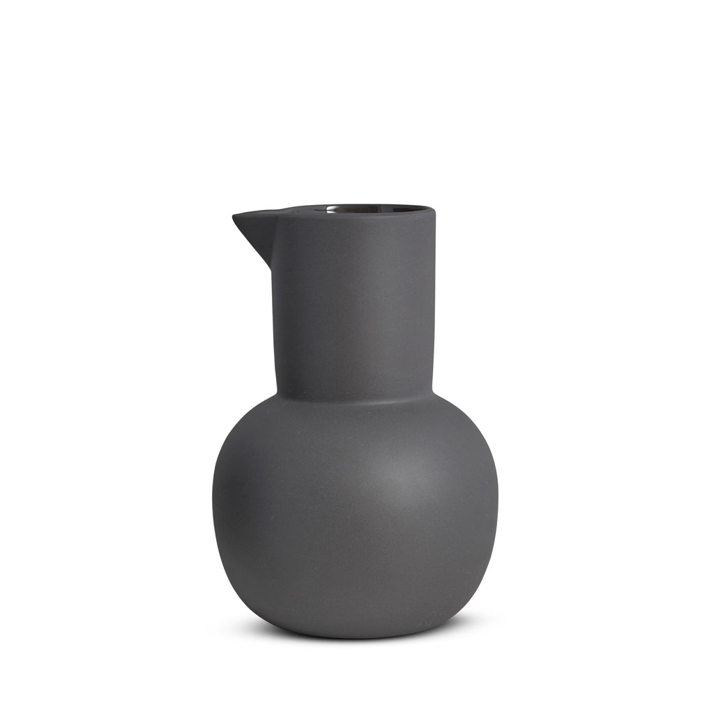 Yala Jug, Large, Charcoal