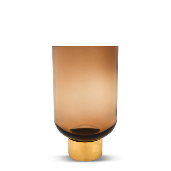 Luxor Glass Vase, Butterscotch M