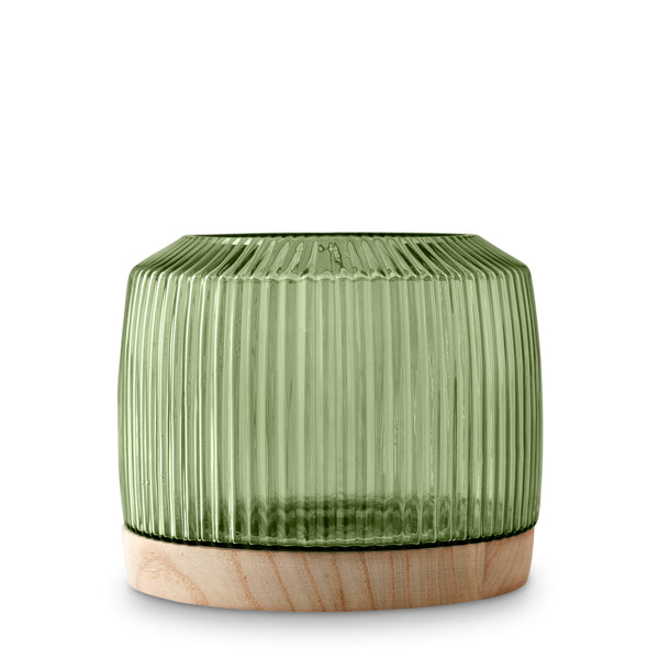 Pleat Vase Green (XL)