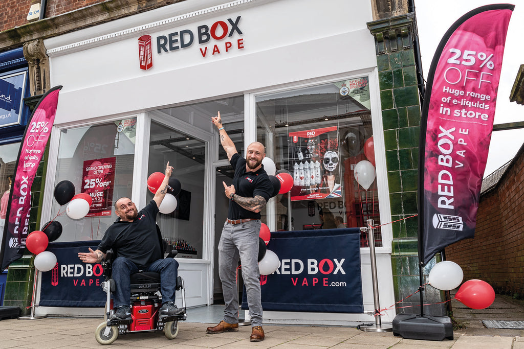We've opened a new Red Box Vape store in Oakham!