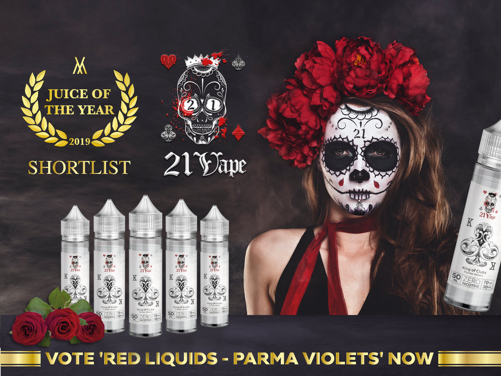Red Liquids shortlisted for an award!