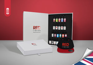 Sample the entire Red Liquids range!