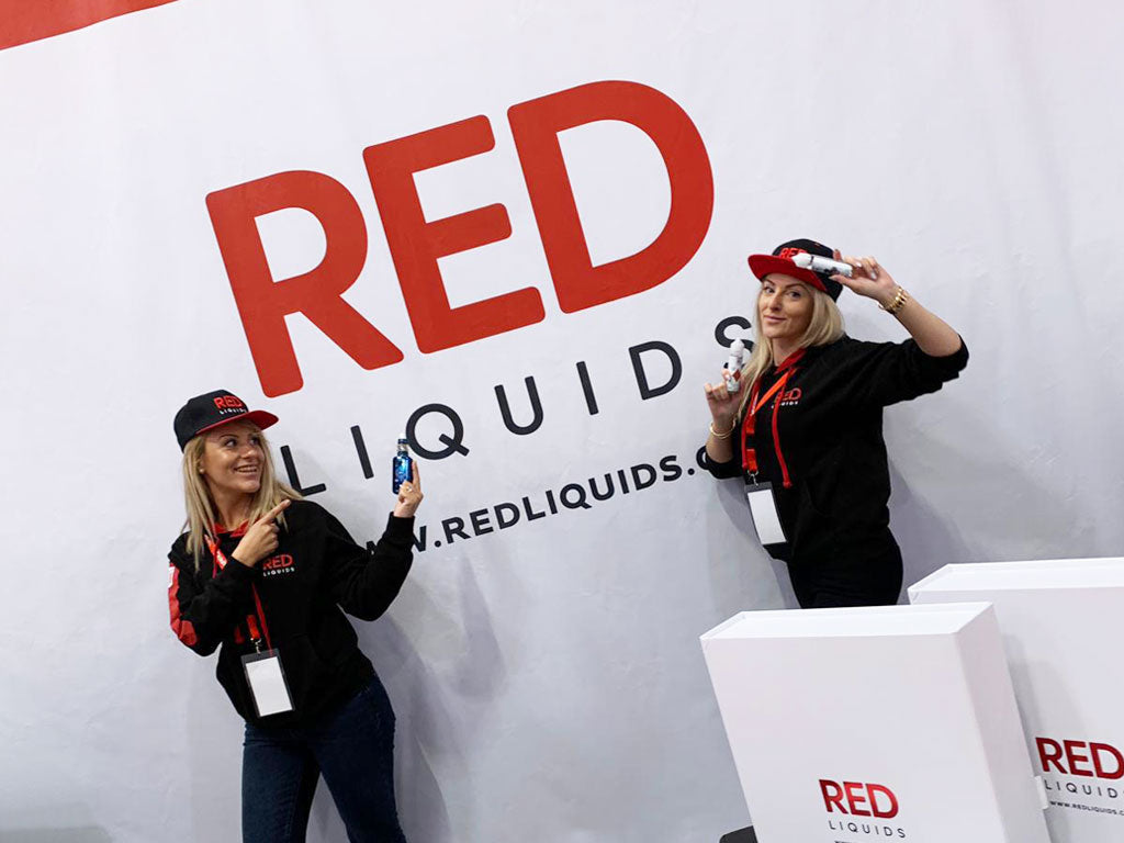 Red Liquids rocked it at the Vapexpro!