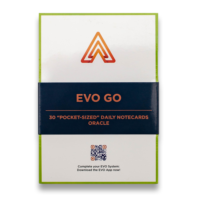 EVO Go™ - Pocket-Sized Daily Planner Notecards