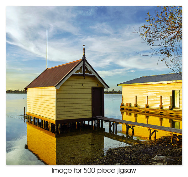 Boatsheds, Lake Wendouree, Ballarat VIC