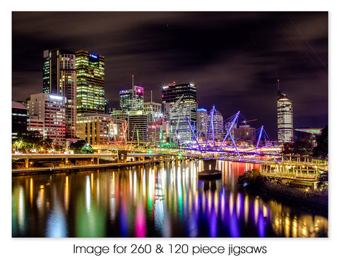 Brisbane City lights 01, QLD