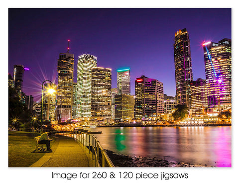 Brisbane City lights 02, QLD