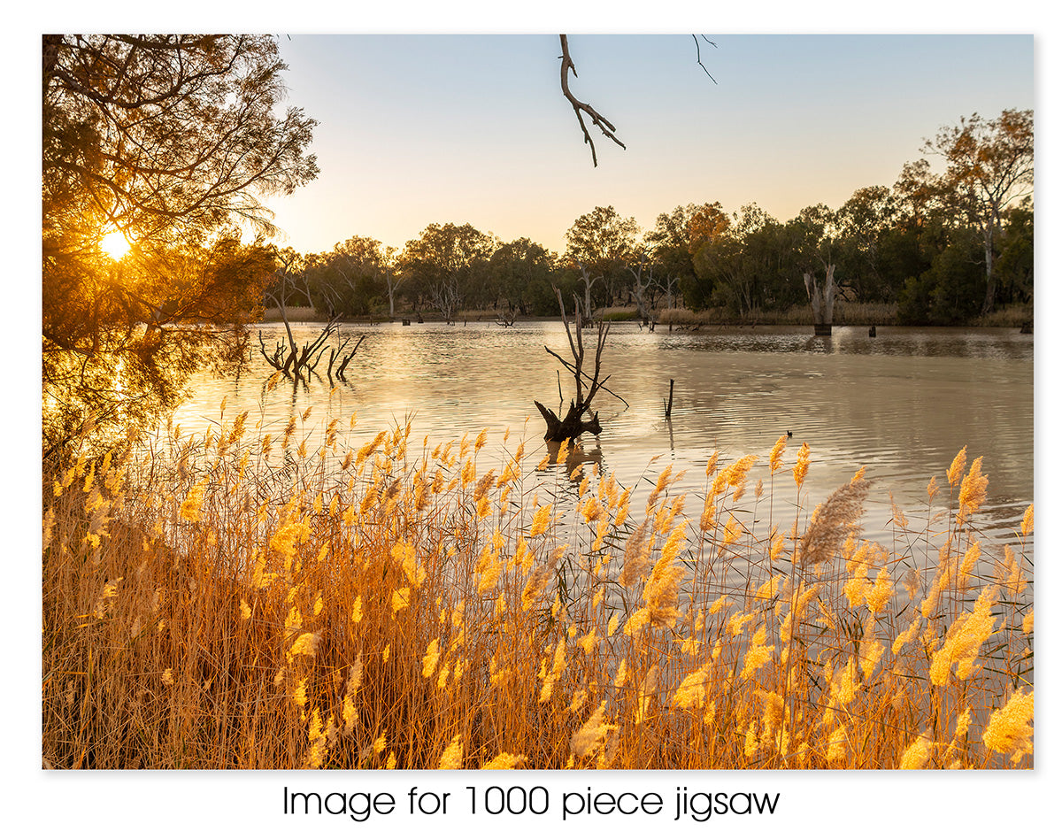 Darling River Sunrise, NSW