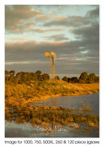 Golden Hour Windmill, Caramut VIC