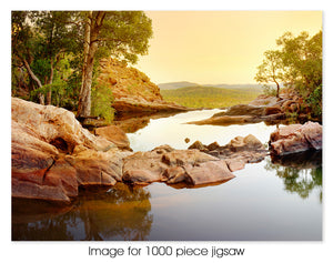 Gunlom Falls Sunset, Kakadu National Park NT