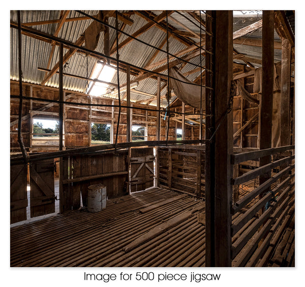 Mallee Shearing Shed, VIC