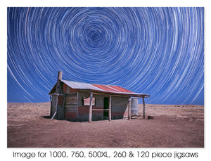 Middleton Hut star trails, QLD