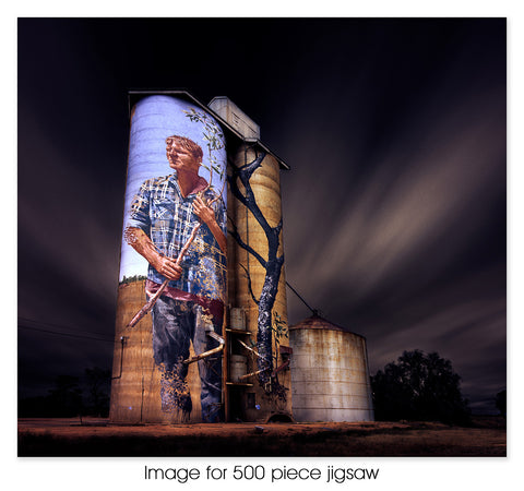 Patchewollock Silo, VIC