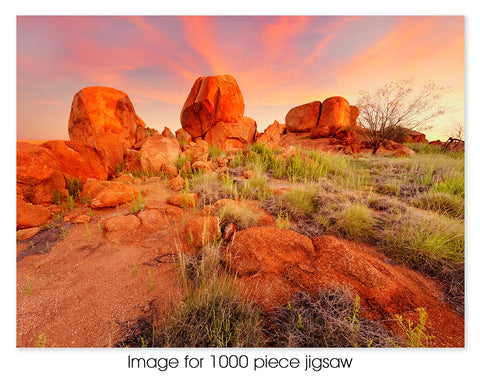 Devils Marbles at sunset, NT