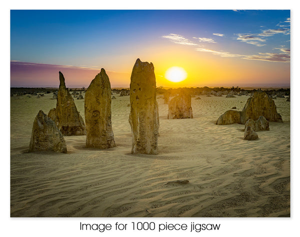 The Pinnacles at Sunset, WA