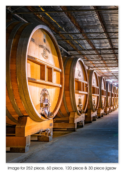 Tyrrells Wine Barrells, Hunter Valley NSW