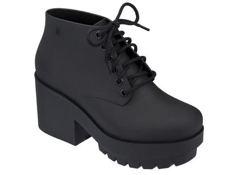 Melissa Women's black jelly platform boot
