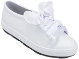 Melissa Women's white jelly sneakers with Micky ears