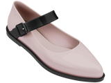 Melissa Women's pink jelly closed shoes with strap